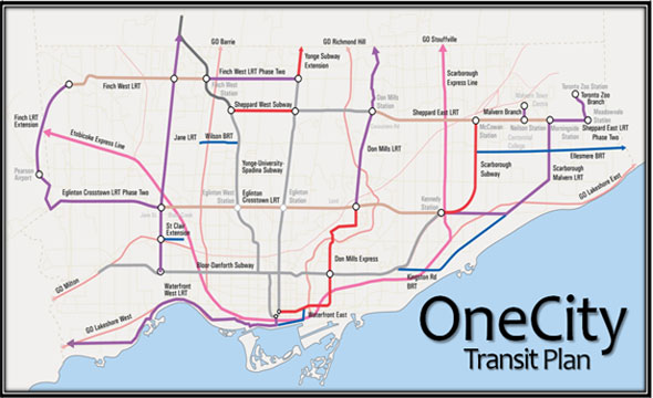 ttc stintz onecity transit map
