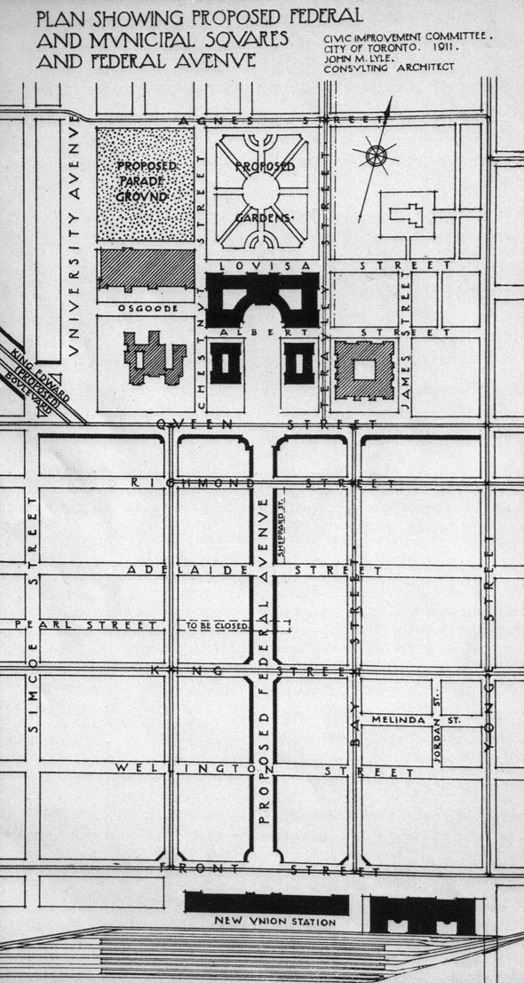 toronto the ward federal avenue plan