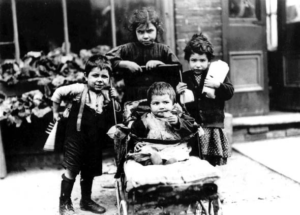 toronto the ward slum children