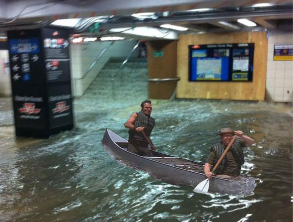 Union Station Flood Meme Deliverance