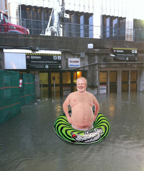 Union Station Flood Meme