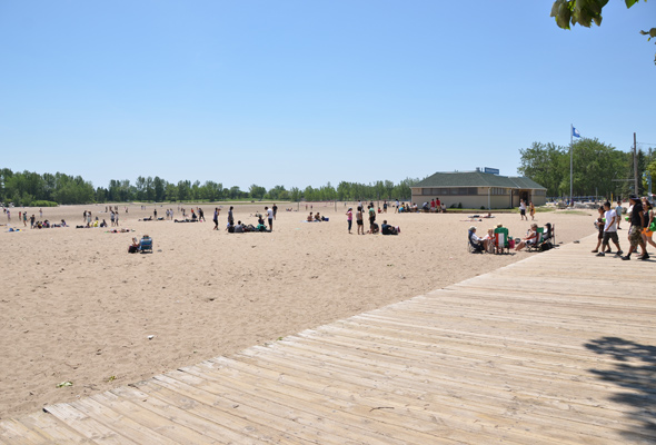 Woodbine Beach