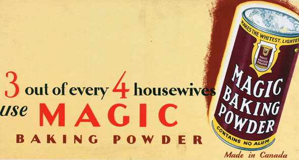 vintage ttc advertisements magic baking powder