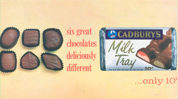 vintage ttc advertisements milk tray