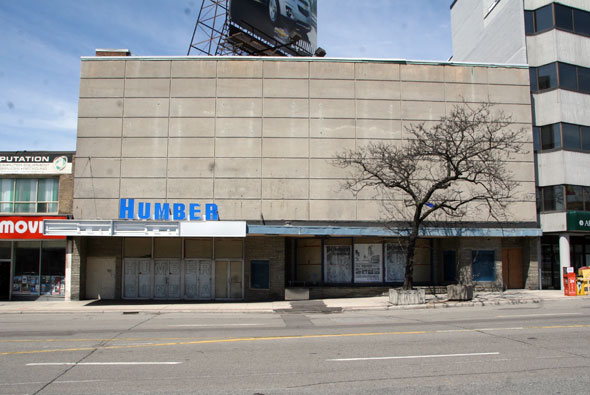 humber cinema closed bloor street