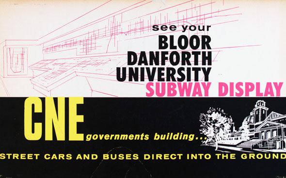 vintage ttc adverts new bloor danforth