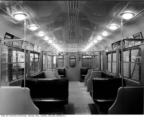toronto 39 s news how the ttc marketed itself vintage edition. Black Bedroom Furniture Sets. Home Design Ideas