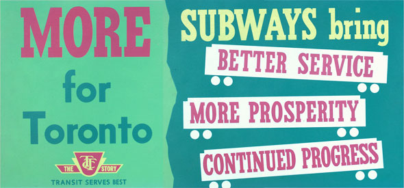 vintage ttc adverts more subways