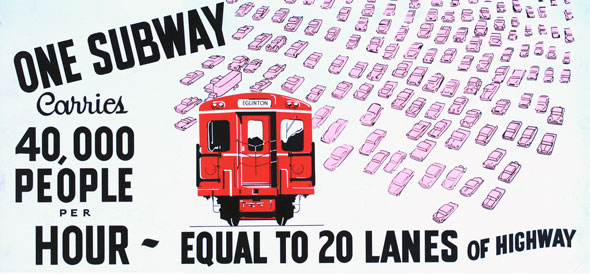 vintage ttc adverts one subway