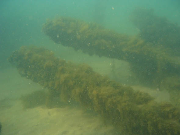 wreck of the alexandria underwater