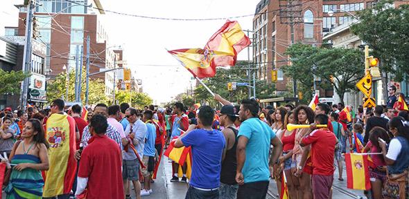Spain Euro Win Toronto