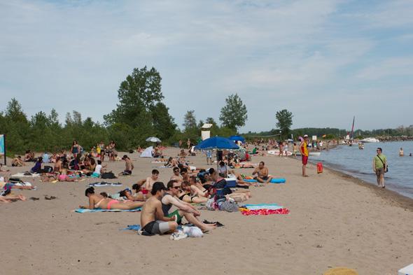 Wards Island Beach