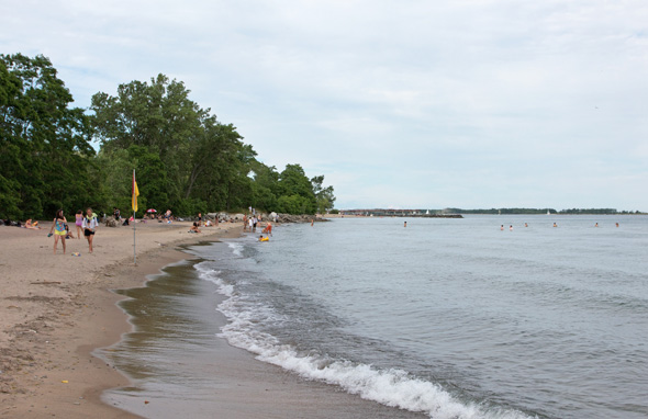 Gibraltar Point Beach Toronto