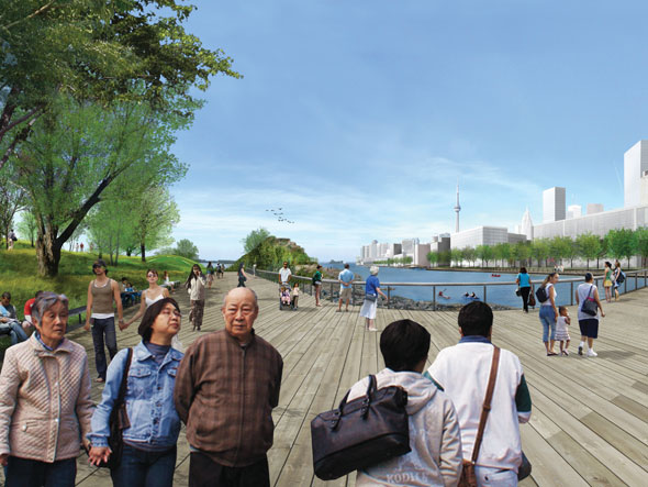 toronto port lands acceleration initiative trinity street bridge