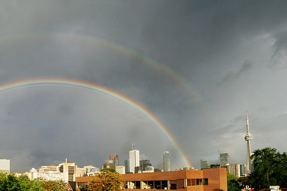 double rainbow toronto