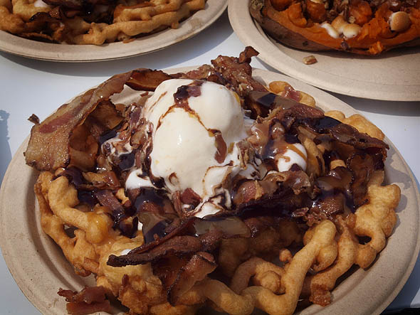 Bacon Nation's bacon sundae