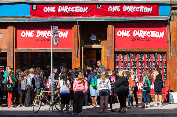 One Direction 1D World Store