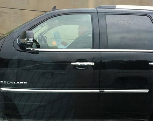 toronto rob ford reading gardiner expressway driving