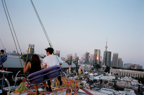 toronto cne ex chair swing downtown