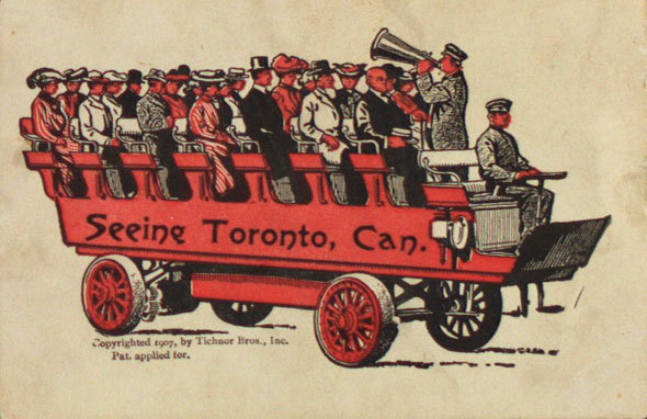 toronto vintage postcards
