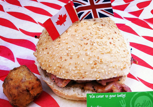Peameal Bacon Sandwich London