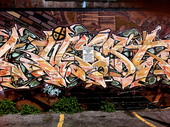 Toronto Graffiti Artists
