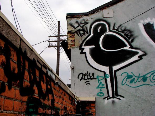 LISTEN Graffiti Toronto