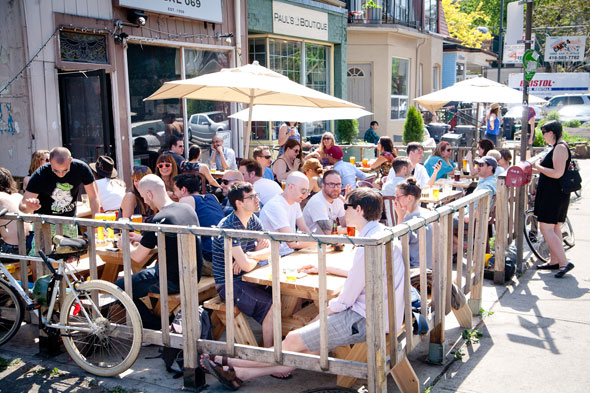toronto patios