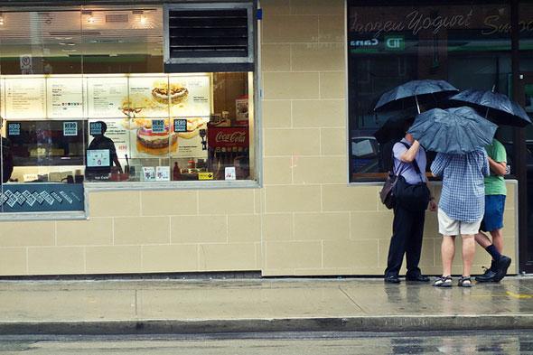 toronto rain umbrellas