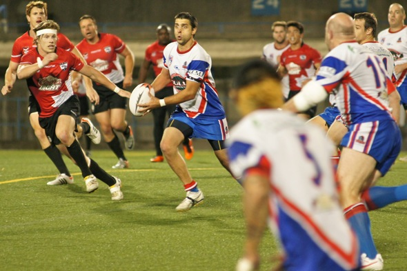 Canada Rugby League vs United States Tomahawks