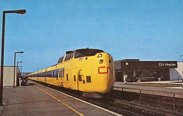kingston turbotrain