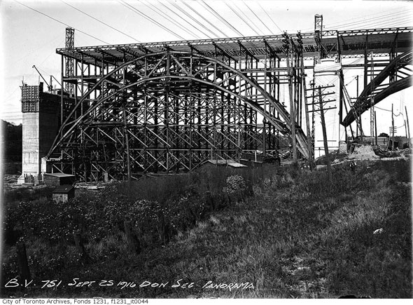 toronto prince edward viaduct construction