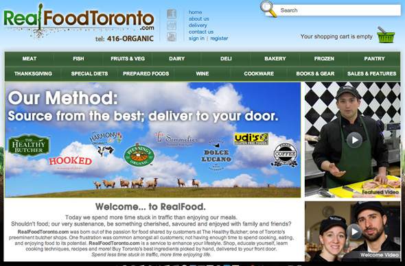 Online Grocery RealFood Toronto