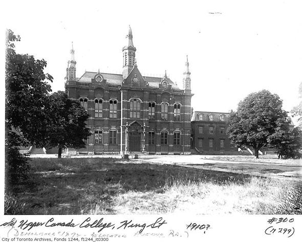 toronto upper canada college