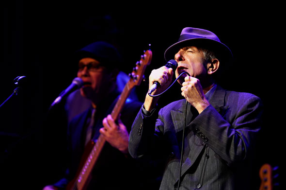 leonard cohen toronto