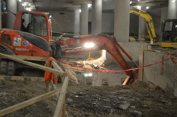 toronto union station construction