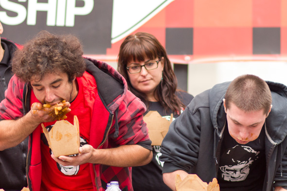 toronto world poutine eating championship 2012