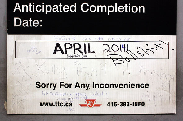 toronto ttc sign