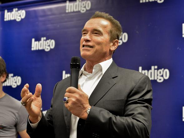 Schwarzenegger Toronto