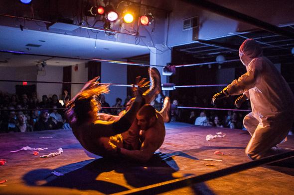 Zombie Wrestling Toronto