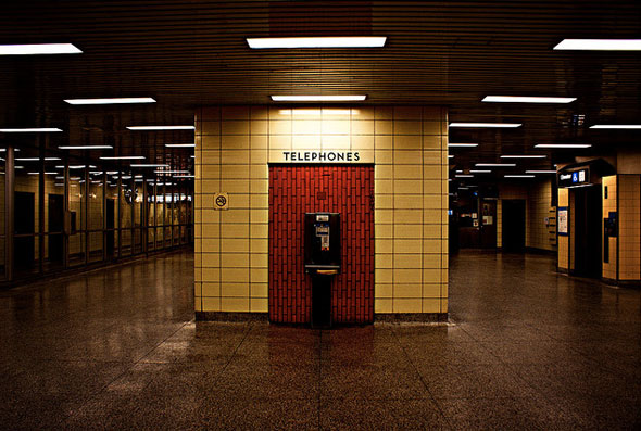toronto subway telephone