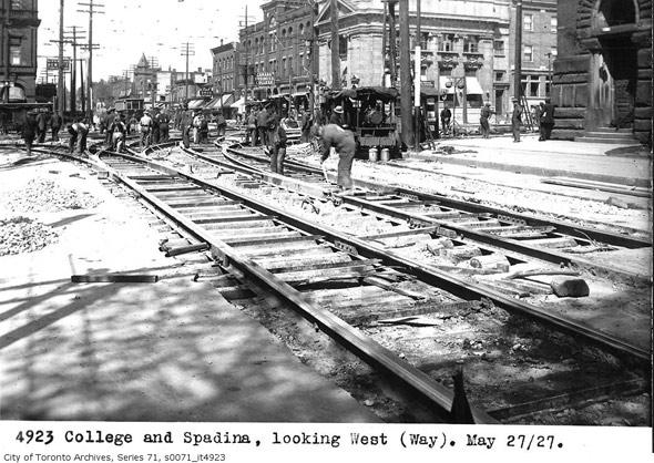 College Street History Toronto