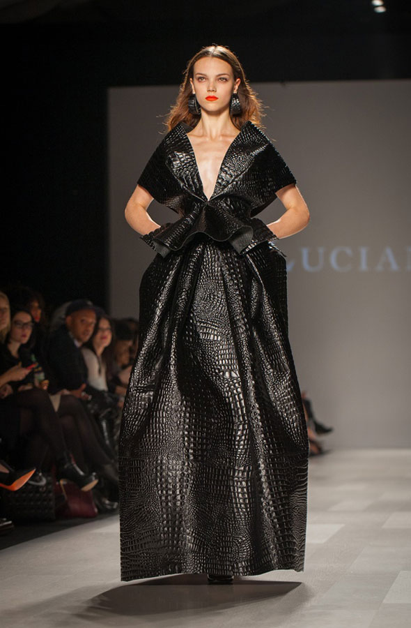 toronto fashion week 2012 lucian matis