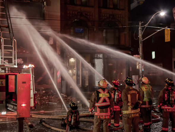 Queen West Fire