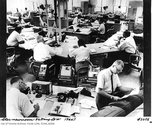 toronto star newsroom