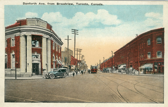Danforth Toronto history