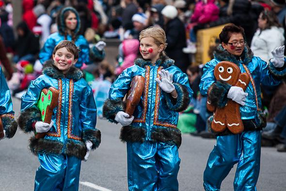 toronto santa claus parade 2012