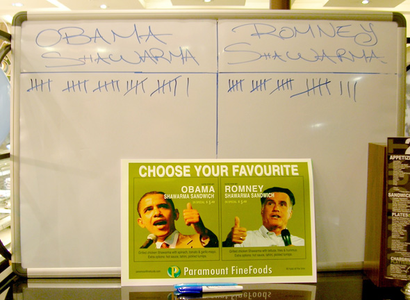 Obama Shawarma