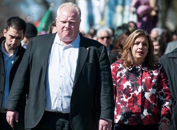 toronto rob ford