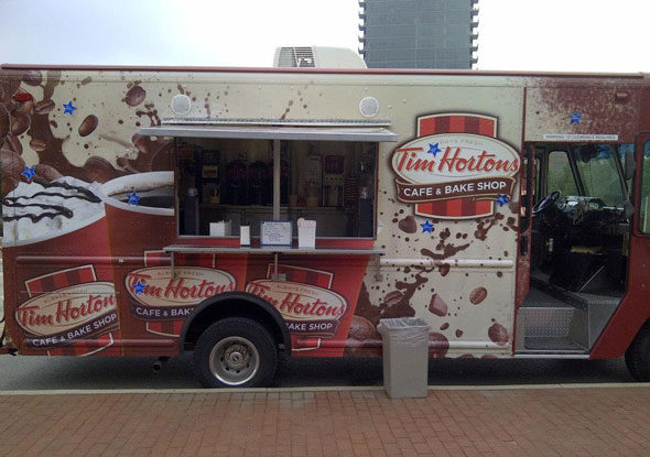 Tim Hortons Food Truck
